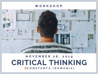 Critical Thinking, Deadline: 15/11/19