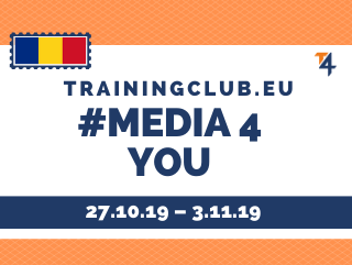 Youth Exchange: Media 4 You, Deadline : 27/10/19 Location : Constanta, Romania