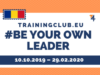 ESC: Be your Own Leader         Deadline: 10/10/2019      Location: Constanta, Romania