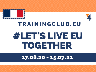 ESC: Let's Live Europe Together  Deadline: 15/04/2020  Location: Sarthe, France