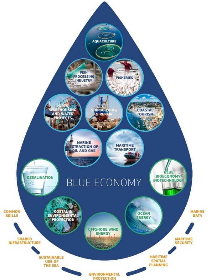 Career guidance in blue growth